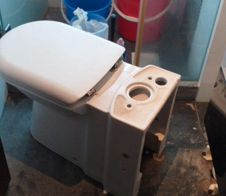 Replacement New Toilet Bowl at Sembawang Road